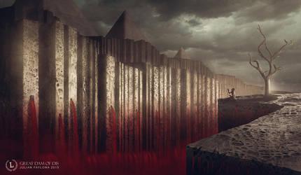 Great Dam of Dis by Julian-Faylona