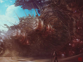 Hakkorian Derelict by Julian-Faylona