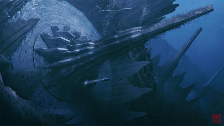 Poseidon's Trident by Julian-Faylona