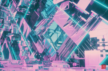 Lattice Glitch by Julian-Faylona