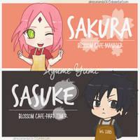 SasuSaku - Cafe Love by AimeeAnanda0615