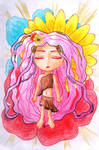 Springtime Goddess (Chibi) by LotusThePirate