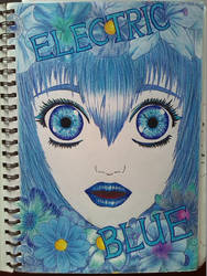 Electric Blue by LotusThePirate