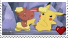 PikachuxBuneary Stamp by PuccaFanGirl