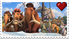 Ice Age 4 Herd Stamp by PuccaFanGirl