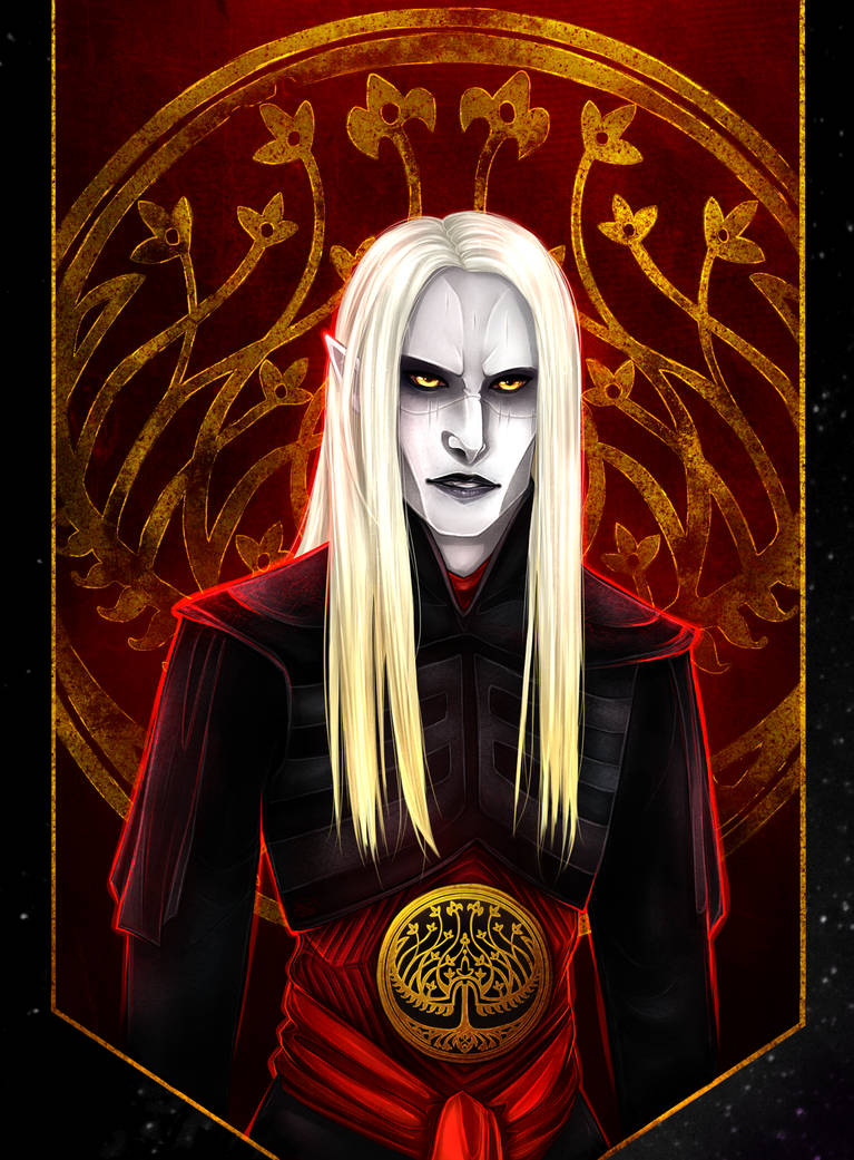 Prince Nuada By Varjopihlaja On Deviantart