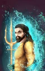 Aquaman by Varjopihlaja