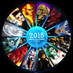 Art summary 2018 by Varjopihlaja