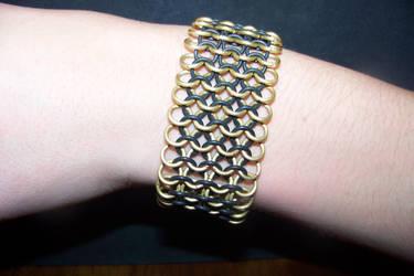 Gold Stretch bracelet by axplazeboy