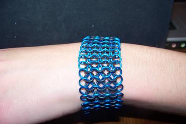 Blue Stretch Bracelet by axplazeboy