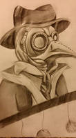 Plague Doctor by WhatTheFlup