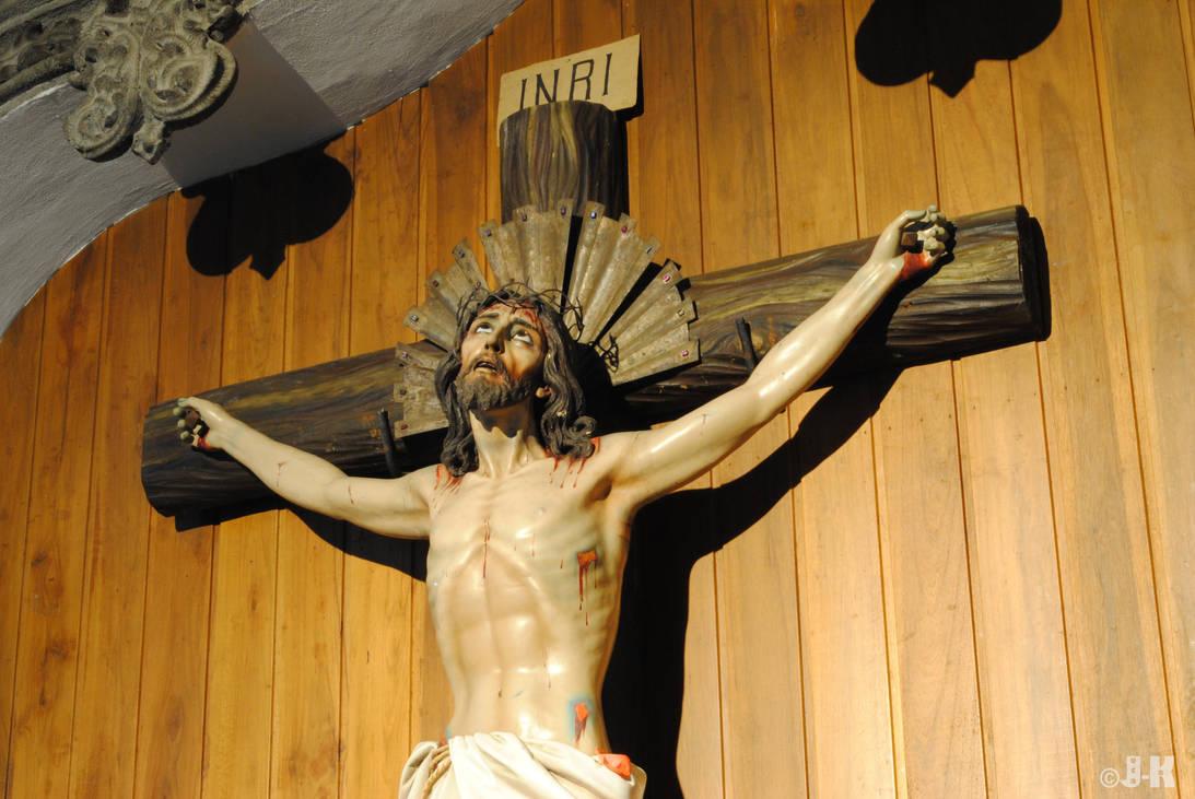 Jesucristo En La Cruz By Jotakaanimation On Deviantart
