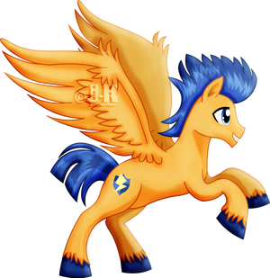 Flash Sentry the pegasus by jotakaanimation