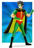 Robin_Dick Grayson by jotakaanimation