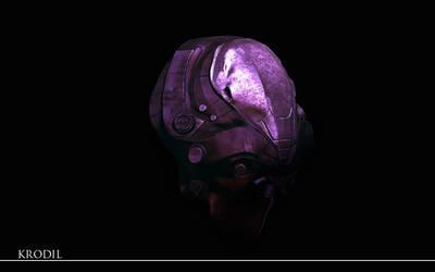 Helmet by Krodil