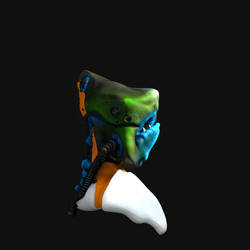 Alienhead by Krodil