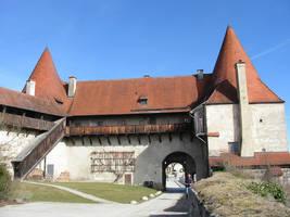 Burghausen castle IV by DancingAlienPro
