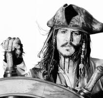 Captain Jack Sparrow by adavesseth