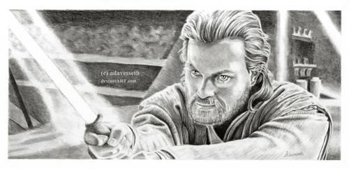 Obi Wan Kenobi by adavesseth
