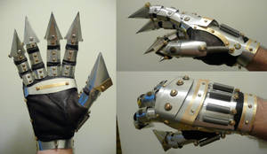 Steampunk Prosthetic Hand DONE by Challenger70TA