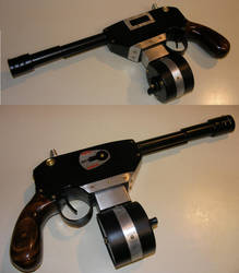 Steampunk Machine Pistol by Challenger70TA
