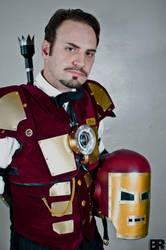 Steampunk Iron Man by Challenger70TA