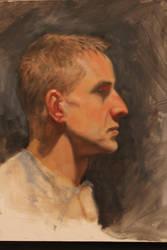 Portrait by edwardaaronart