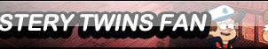 Mystery Twins Fan Button by sinh95