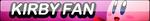 Kirby Fan Button by sinh95