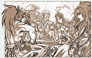 Sidereals 2e - bronze faction by kiyo