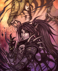 Beast of Blood : Irithel by kiyo