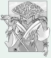 Blessed Isle - rice paddy god by kiyo
