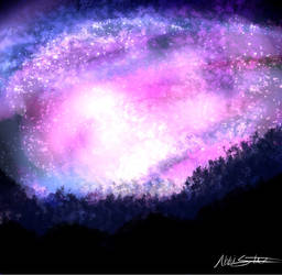 Galaxy by Inksblots