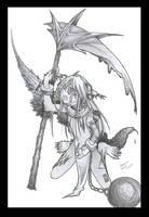 You took my wing---- grrr lol by kentuski