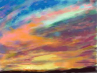 Sky study by kentuski