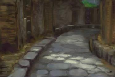 Alley Practice by kentuski