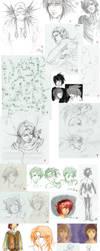 Summer Sketches by kentuski