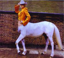 centaur cowgirl by BROKENHILL