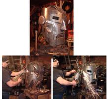 275 lbs steel Doc Doom WIP by BROKENHILL