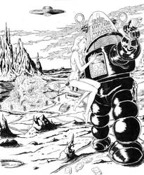 Robby the Robot by BROKENHILL