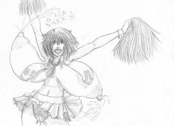 Milky Cheerleader by RyohjiHeavyIndustry
