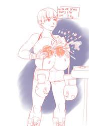 the boxer by RyohjiHeavyIndustry