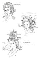 Hanbok, A Queen's Hair by Glimja