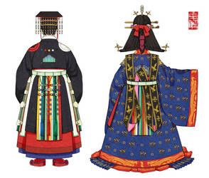 Korean Grand Full-Dress by Glimja