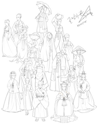 Hanbok Story 3 Comming Soon by Glimja