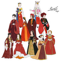 European Clothing History by Glimja