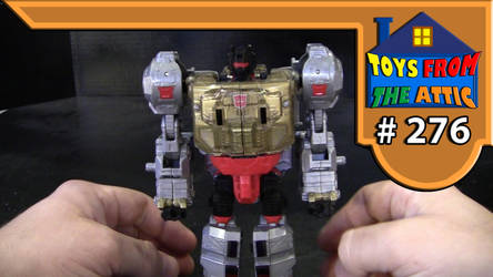 Toys from the attic E276 transformers POP Grimlock by Jason-K