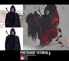 Quinlan 'The Strain' Photoshop Tutorial by Alex-Golden