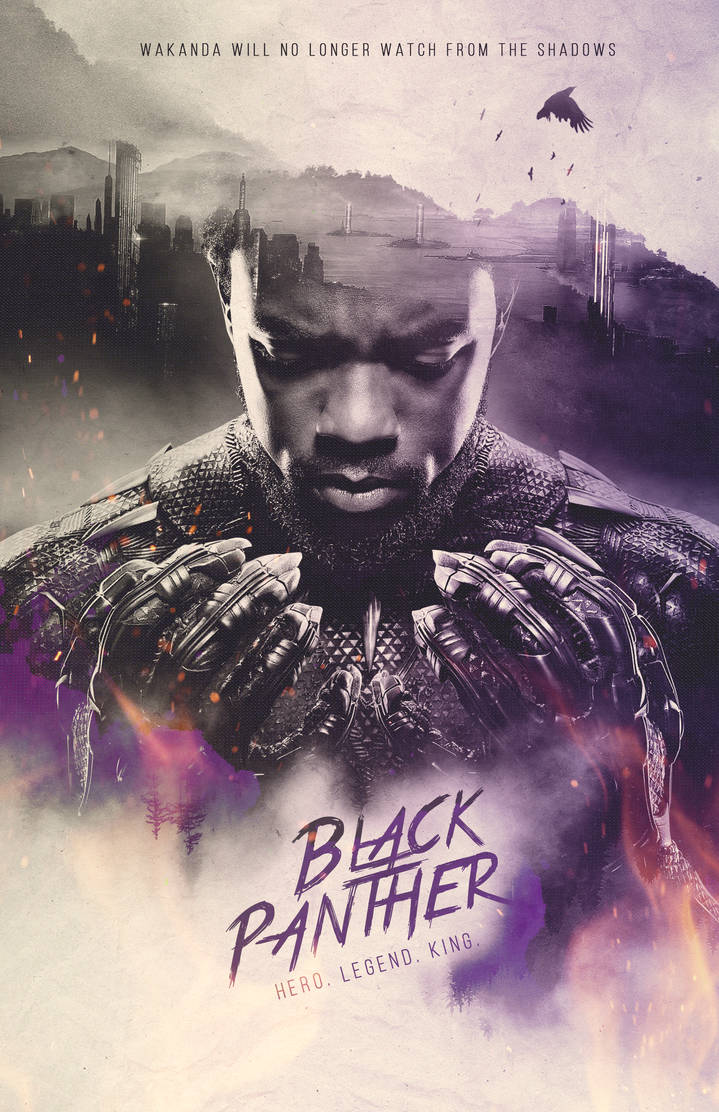 Black Panther Poster Photoshop Tutorial By Alex Golden On Deviantart