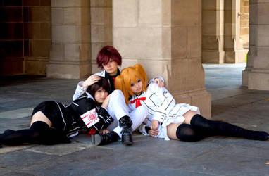 VK: Love Triangle??? by BBChibi